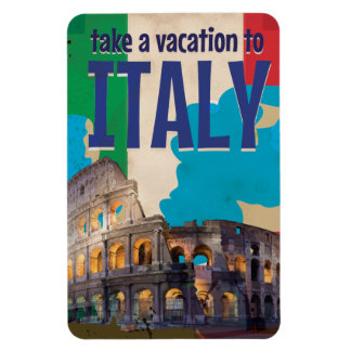 Italy Vintage Travel poster Magnet