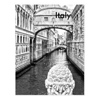 Italy Vintage Travel Tourism Ad Postcard