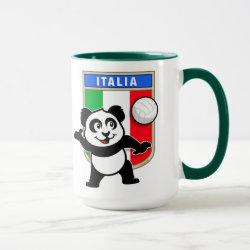 Combo Mug with Italian Volleyball Panda design