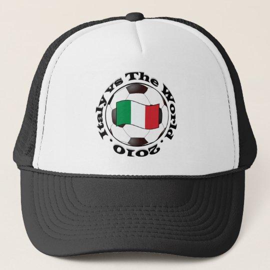 Italy vs The World Trucker Hat