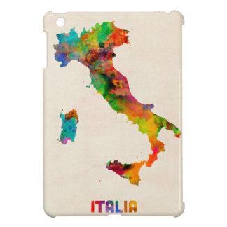 Italy Watercolor Map, Italia iPad Mini Cover
