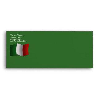 Italy Waving Flag Envelope