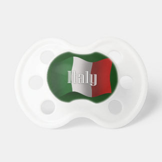 Italy Waving Flag Pacifier