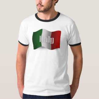 Italy Waving Flag T-Shirt