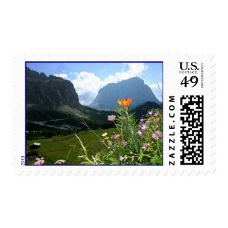 ITALY: Wildflowers, Dolomites Stamps