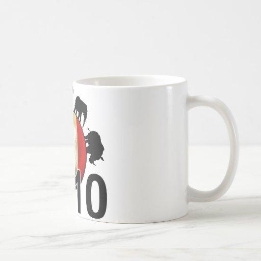 Italy World 2010 Classic White Coffee Mug