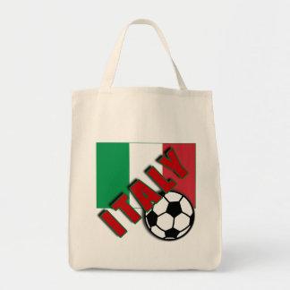 ITALY World Soccer Fan Tshirts Canvas Bag