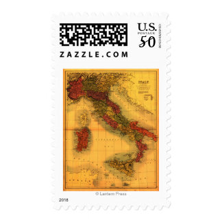ItalyPanoramic MapItaly Postage