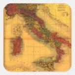 ItalyPanoramic MapItaly Stickers