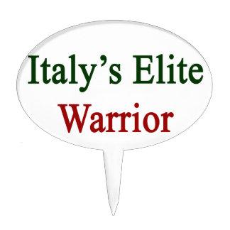 Italy's Elite Warrior Cake Topper
