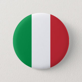 Italy's Flag Pinback Button