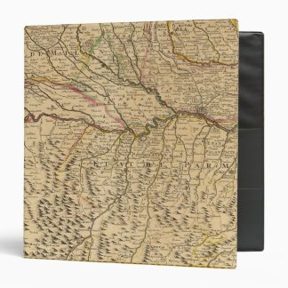 Italy's Po River Valley 3 Ring Binder