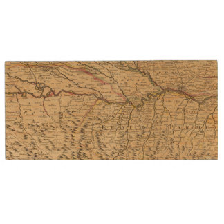 Italy's Po River Valley Wood Flash Drive