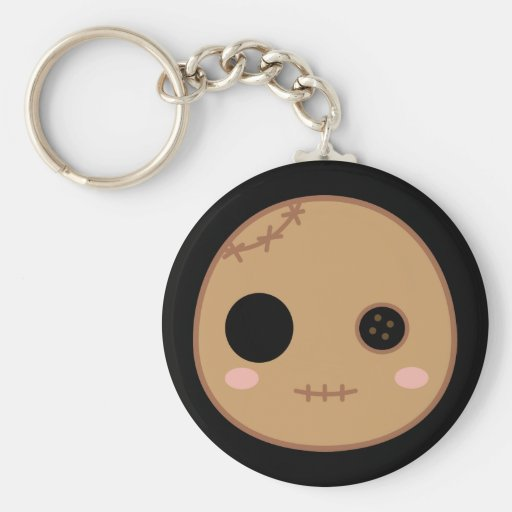 Itami the Voodoo Doll Head Keychains