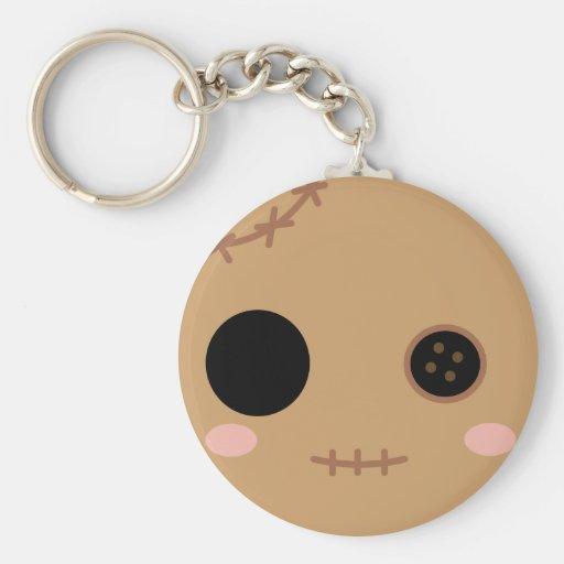 Itami the Voodoo Doll Head Keychain