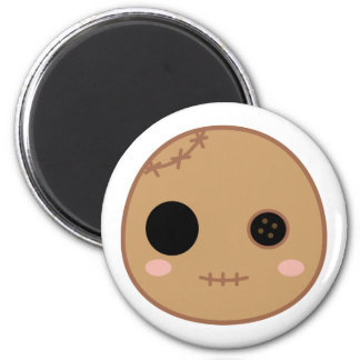 Itami the Voodoo Doll Head Magnet