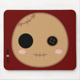 Itami the Voodoo Doll Head Mouse Pad