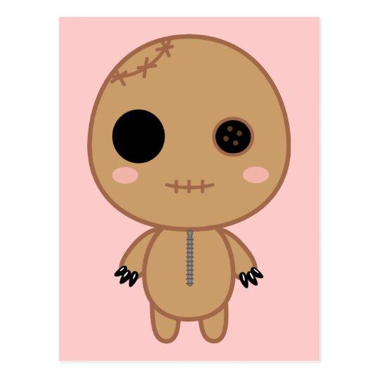 Itami the Voodoo Doll Postcard