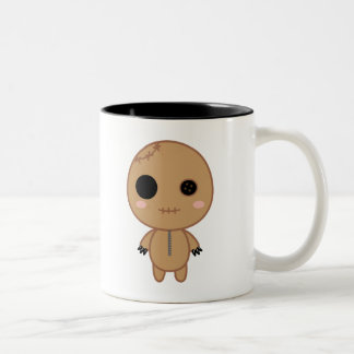 Itami the Voodoo Doll Two-Tone Coffee Mug
