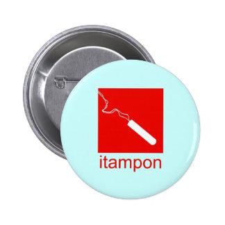 iTampon 2 Inch Round Button