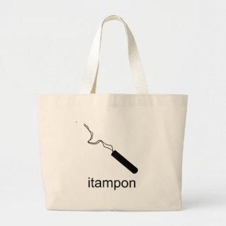 iTampon Canvas Bag