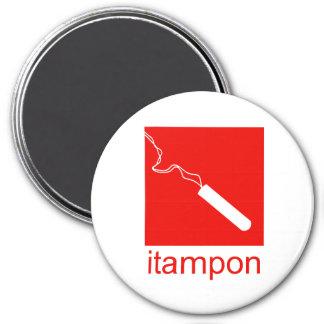 iTampon Imán Redondo 7 Cm