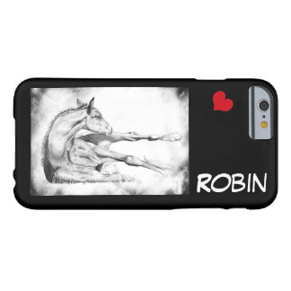 Itch Too with red heart Barely There iPhone 6 Case