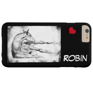 Itch Too with red heart Barely There iPhone 6 Plus Case