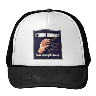 Itching Fingers? Mesh Hat