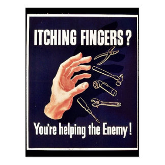 Itching Fingers? Post Card