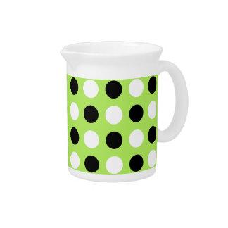 Itchworm Polka Dots Beverage Pitchers