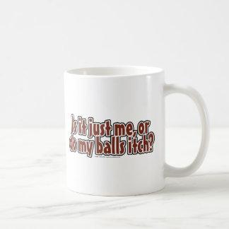 Itchy Balls Coffee Mug