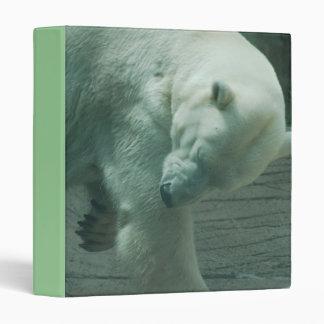 Itchy Polar Bear Binder