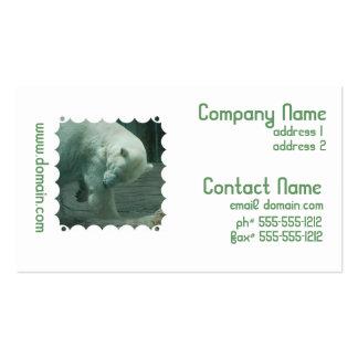 Itchy Polar Bear Business Cards