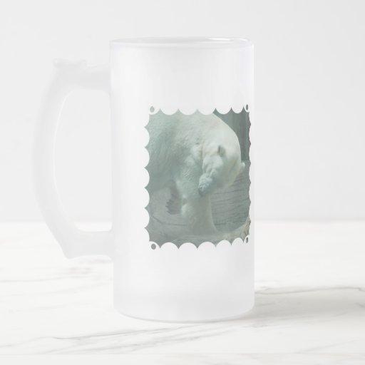 Itchy Polar Bear Frosted Mug