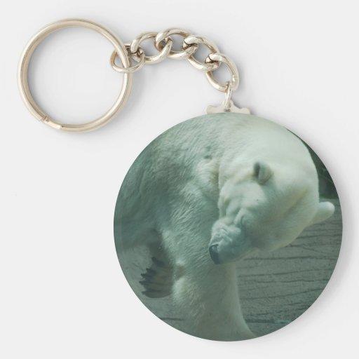 Itchy Polar Bear Keychain