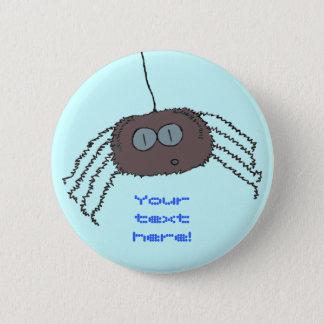 Itchy spider button