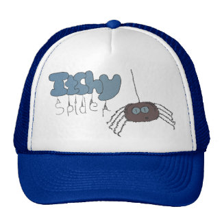 Itchy spider trucker hat