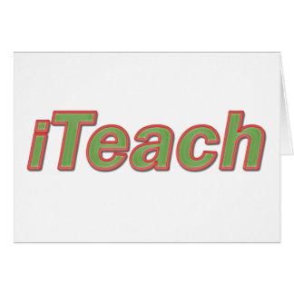 iTeach Card
