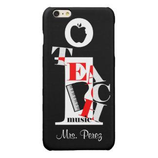 iTeach Music Glossy iPhone 6 Plus Case