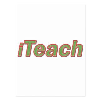 iTeach Postcard