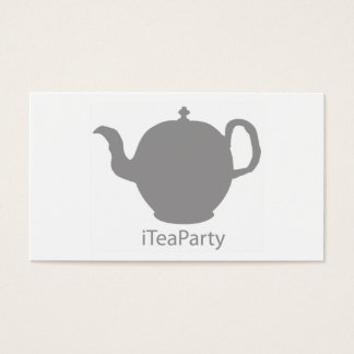 iTeaParty business cards