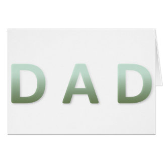 items for DAD Card