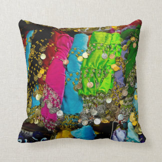 Items For Sale In Spice Market, Istanbul, Turkey Throw Pillow