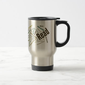Items for Serious Readers! 15 Oz Stainless Steel Travel Mug