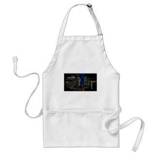 Items inspired by great works of literature adult apron