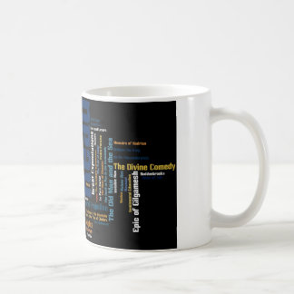 Items inspired by great works of literature coffee mug