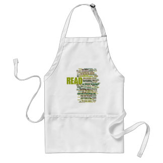 Items inspired by the 100 Greatest Books Adult Apron