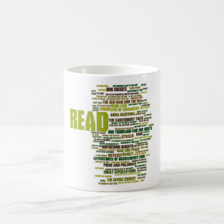 Items inspired by the 100 Greatest Books Classic White Coffee Mug