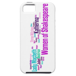 Items inspired by the women of Shakespeare's stori iPhone SE/5/5s Case